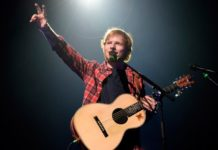 Ed Sheeran in Italia
