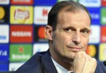 Massimiliano Allegri premio panchina d'oro