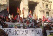 Roma sciopero scuola Usb