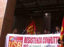 Usb sciopero scuola bloccato