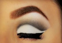 Make up bicolor autunnale