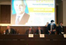 Salvo Pogliese, il convegno con Tajani e Musumeci