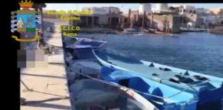 Sbarco migranti illegale dalla tunisia