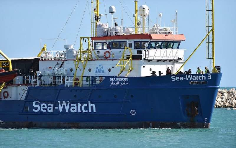 Sea Watch 3, Muscat: