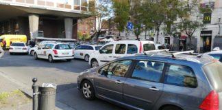 sciopero tassisti in Sicilia e Sardegna