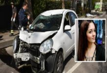 alina marchetta incidente roma