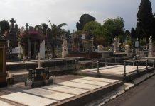 Condizioni e sicurezza cimitero di Catania