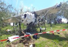 Incidente aereo in Umbria