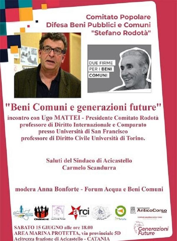 incontro con Ugo Mattei