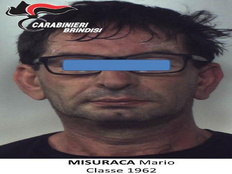 Brindisi catturato il latitante presunto autore della for Magri arreda francavilla fontana