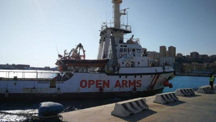 anomalie a bordo di open arms