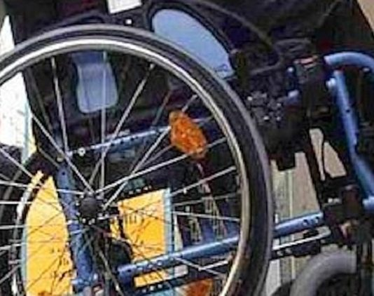 quindicenne picchia un disabile